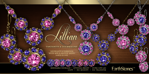 Lillian Collection - Tanzanite & Tourmaline