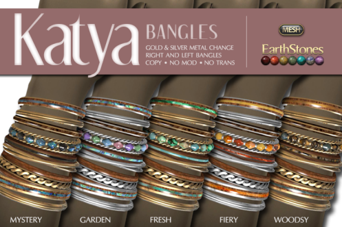EarthStones Katya Bangles All