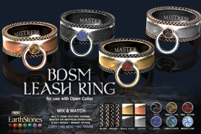 BDSM Leash Ring